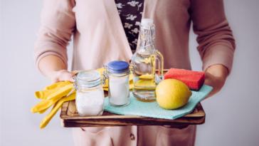 ingrédients naturels produits ménagers d'entretien