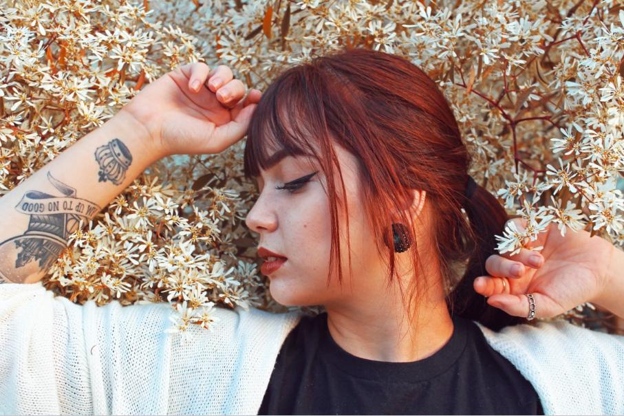 cheveux henné