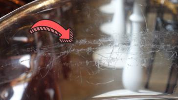 effacer rayures vitre verre une