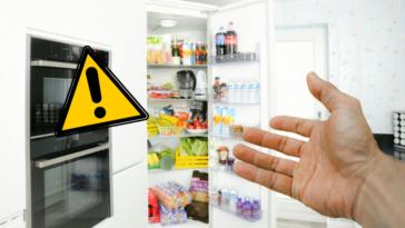 frigo réfrigérateur erreurs attention
