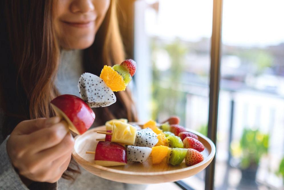 fruits en brochettes