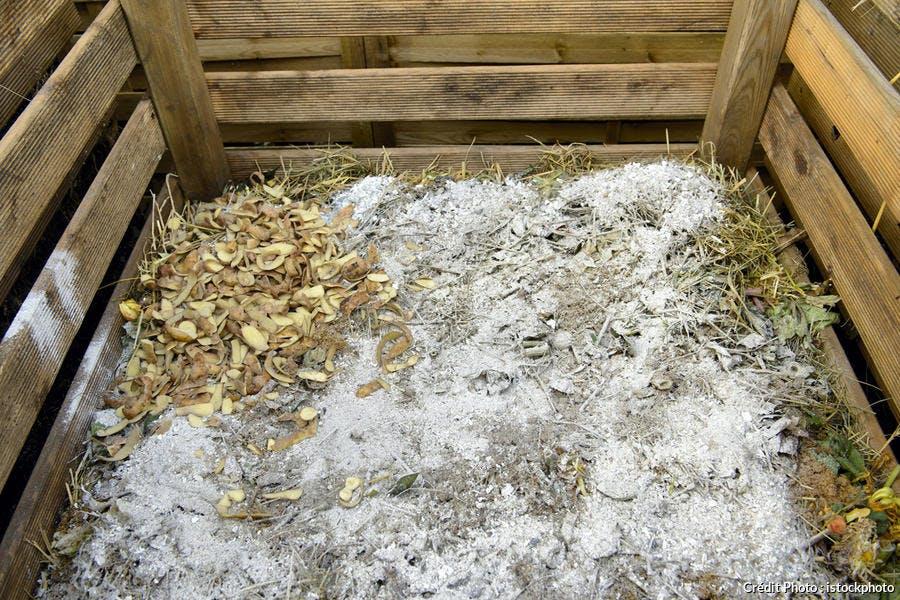 cendres jardin compost compostage