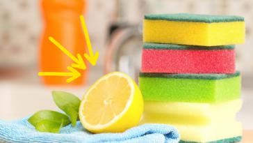 une nettoyer citron