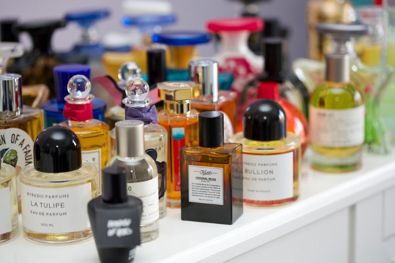 collection de parfums de niche
