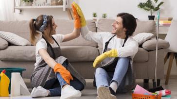 entretien ménage maison propre et saine