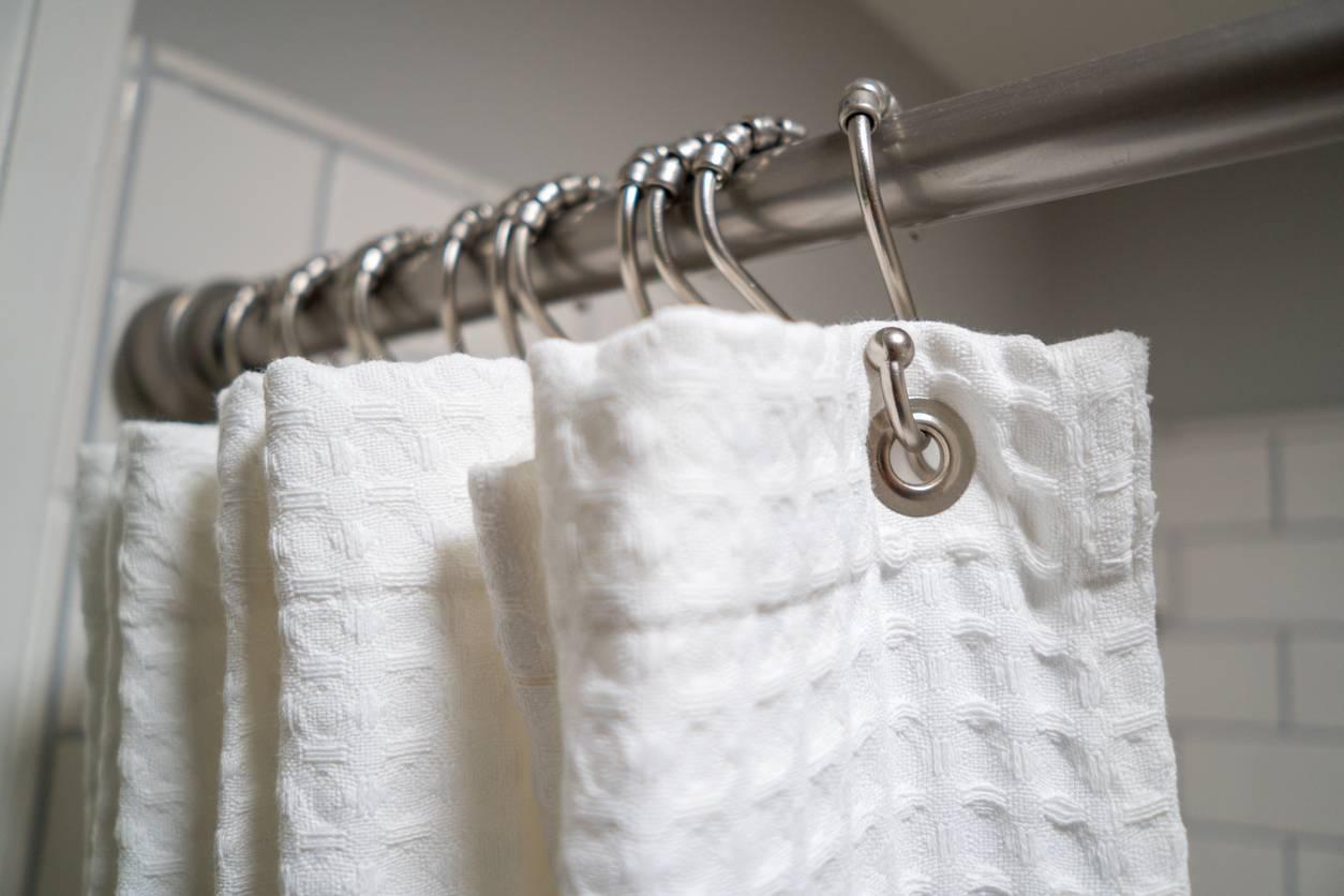 nettoyer rideau de douche