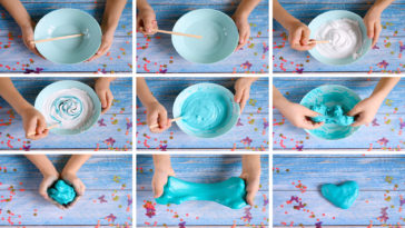 recette slime non toxique fait maison