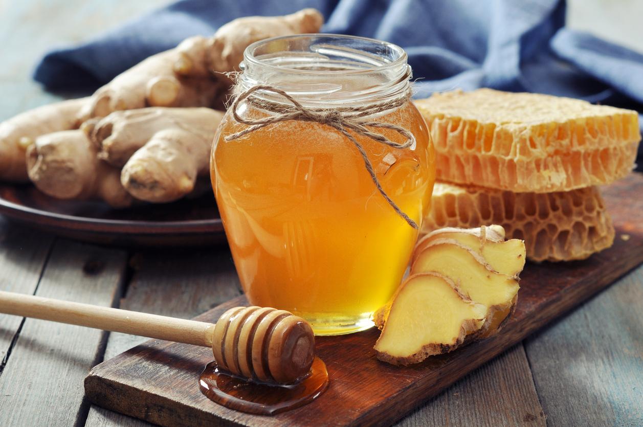 miel gingembre