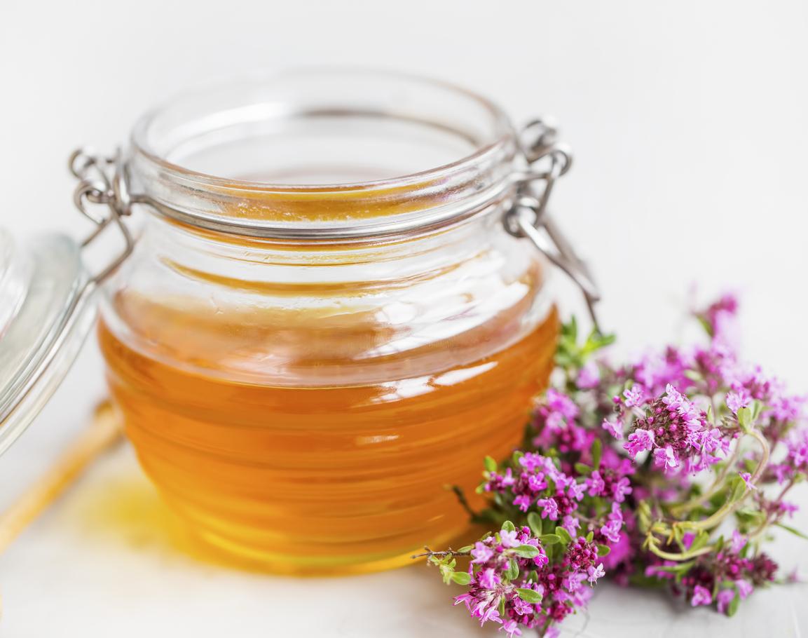 miel au thym parmi les miels médicinaux