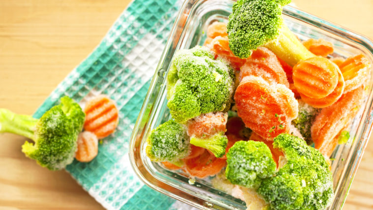 légumes congelés décongélation