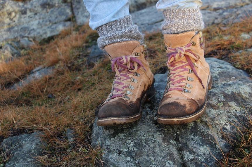chaussures en cuir sales