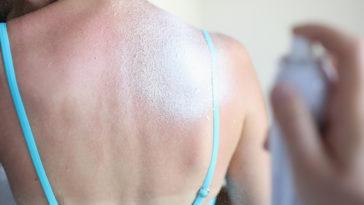 crème solaire protection soleil été taches vêtement