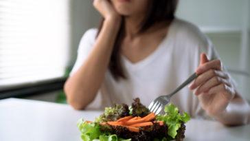 détester manger des légumes perte d'appétit pas faim
