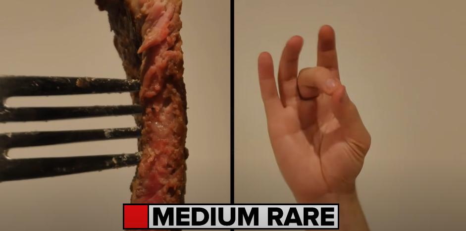 cuisson à point viande steak