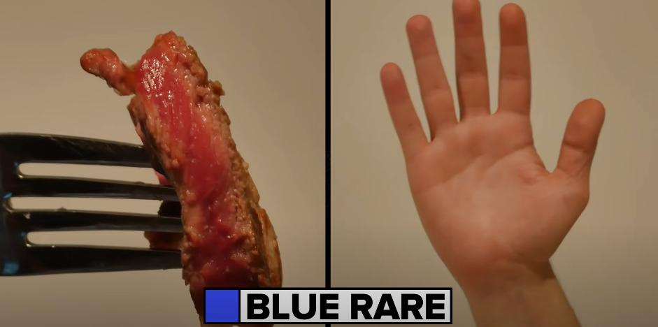 cuisson bleue viande steak