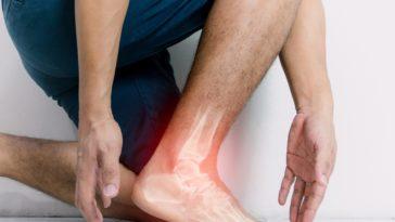 entorse blessure cheville douleurs