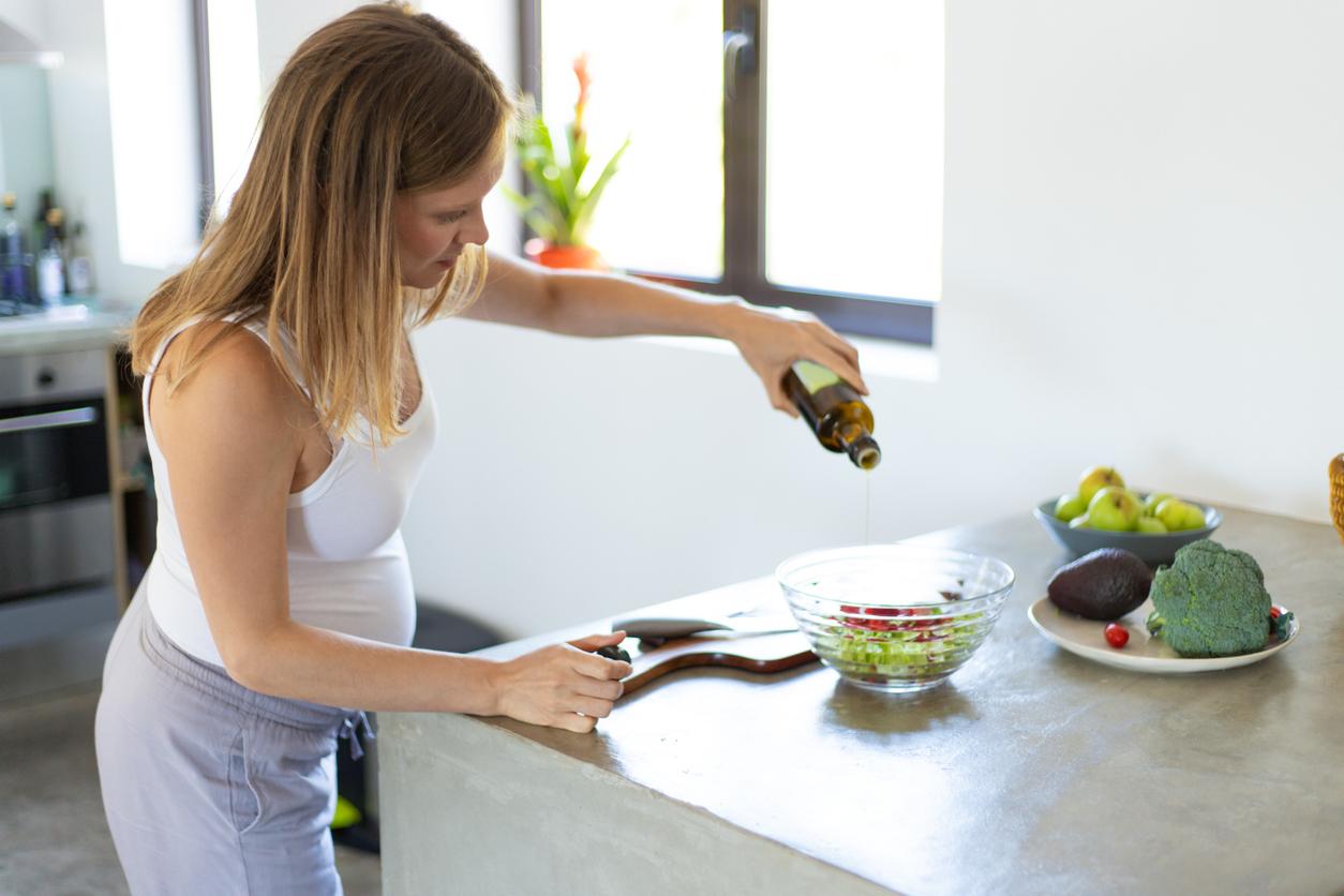 femme enceinte huiles aliments conseillés grossesse