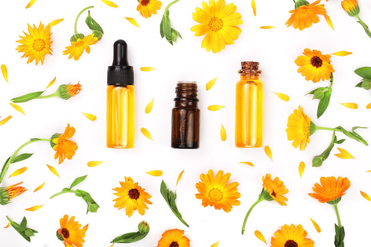 huile de calendula fleurs