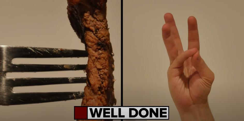 steak bien cuit