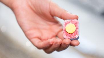 tablette pastille pour le lave-vaisselle