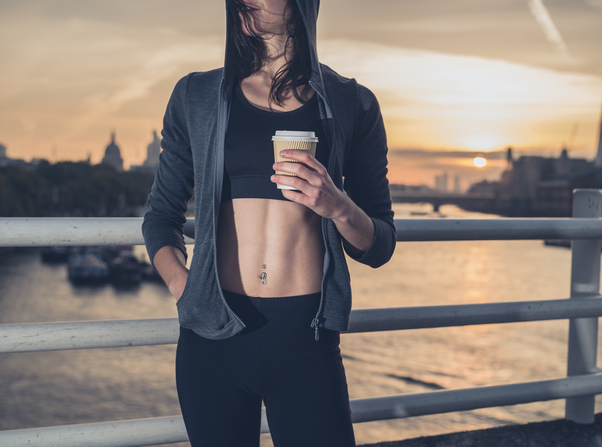 boire boisson avant le sport café